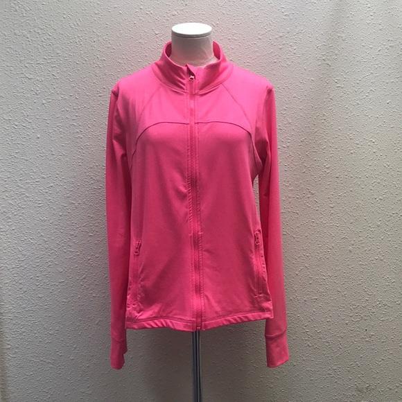 9dc6cb70d1f08 90 Degree By Reflex Jackets & Coats   90 Degree Pink Yoga Jacket ...